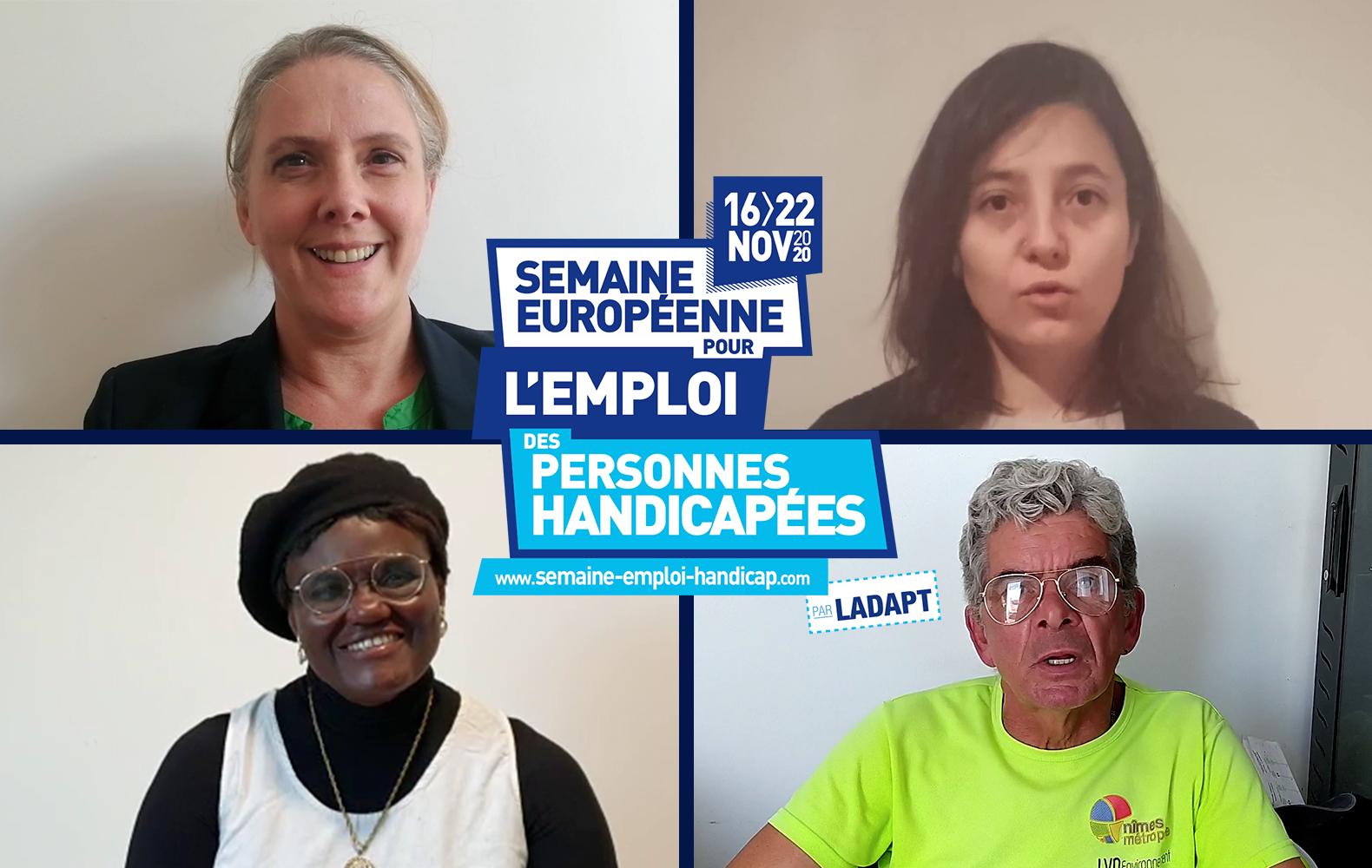 La semaine européenne de l'emploi des personnes handicapées