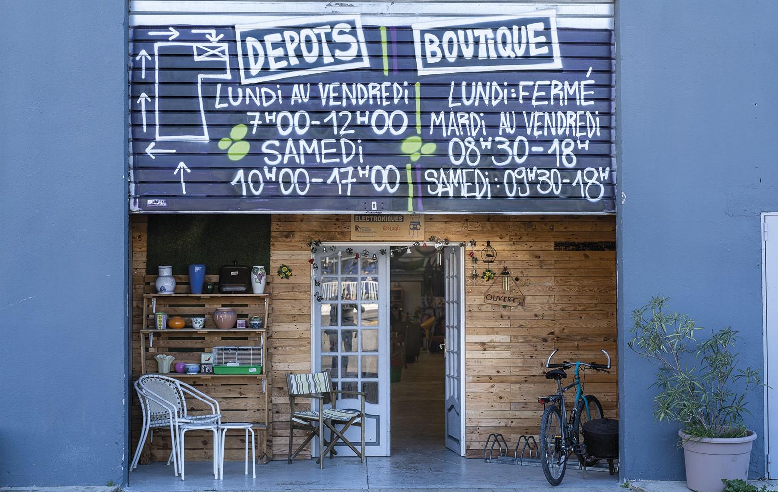 Semaine nationale des Ressourceries en France – Le Dirigeable