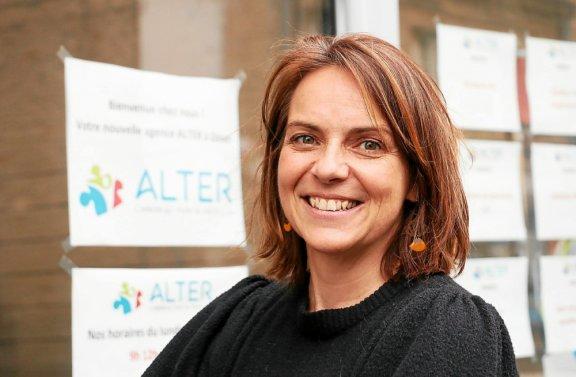 La Ministre Elisabeth Moreno rencontre les équipes Alter à Dinan
