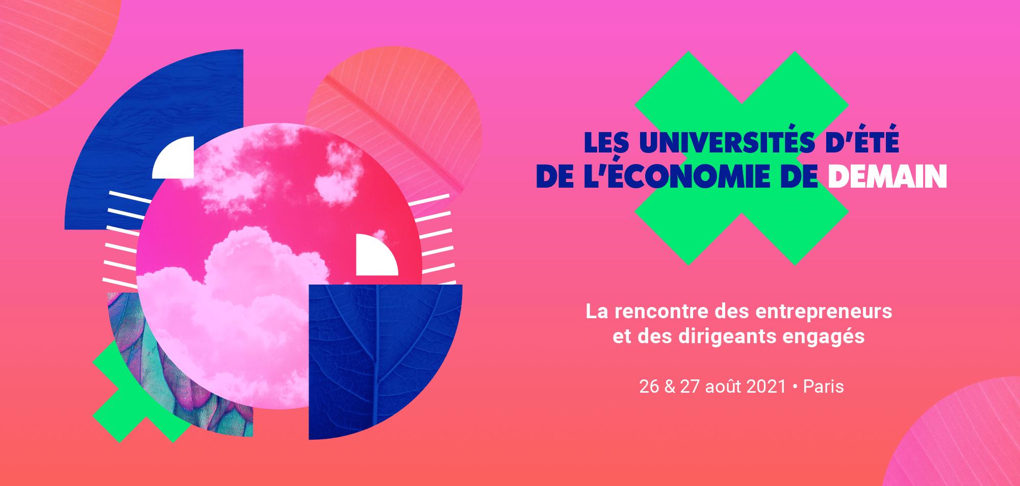 Les Universités d'Été de l'Économie de Demain - UEED 2021