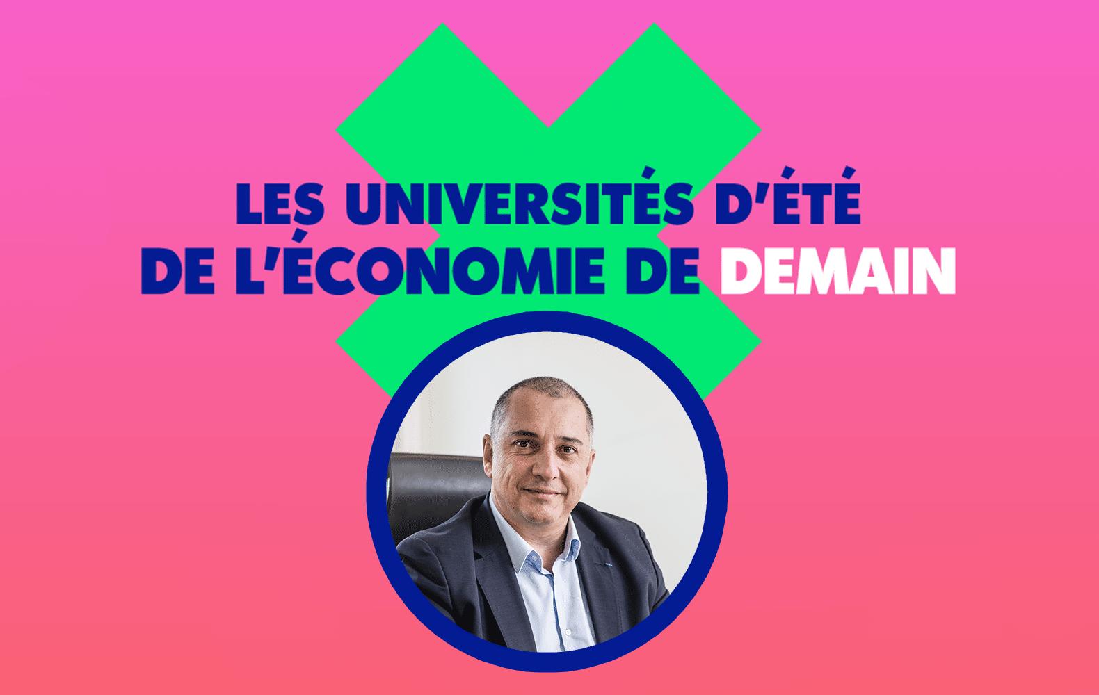 UEED 2021, Laurent LAIK modère le débat sur l'évolution des emplois