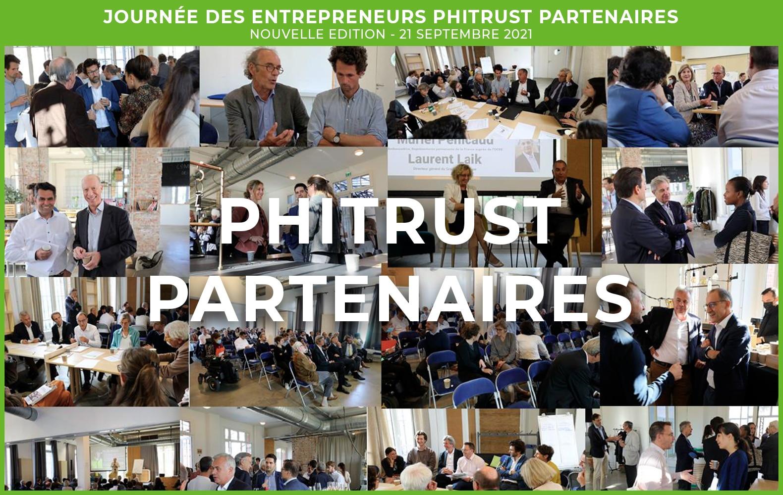 Journée des Entrepreneurs Phitrust Partenaires – édition 2021