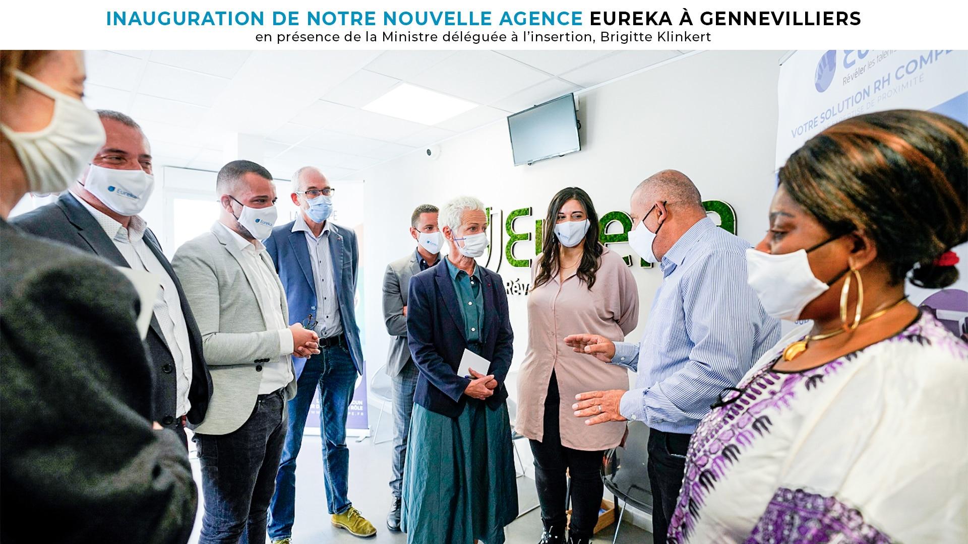 Inauguration de notre Nouvelle Agence Eureka à Gennevilliers